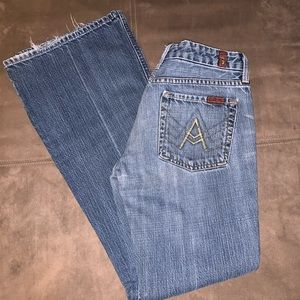 7FAM 7 for All Mankind A Pocket jeans size 28